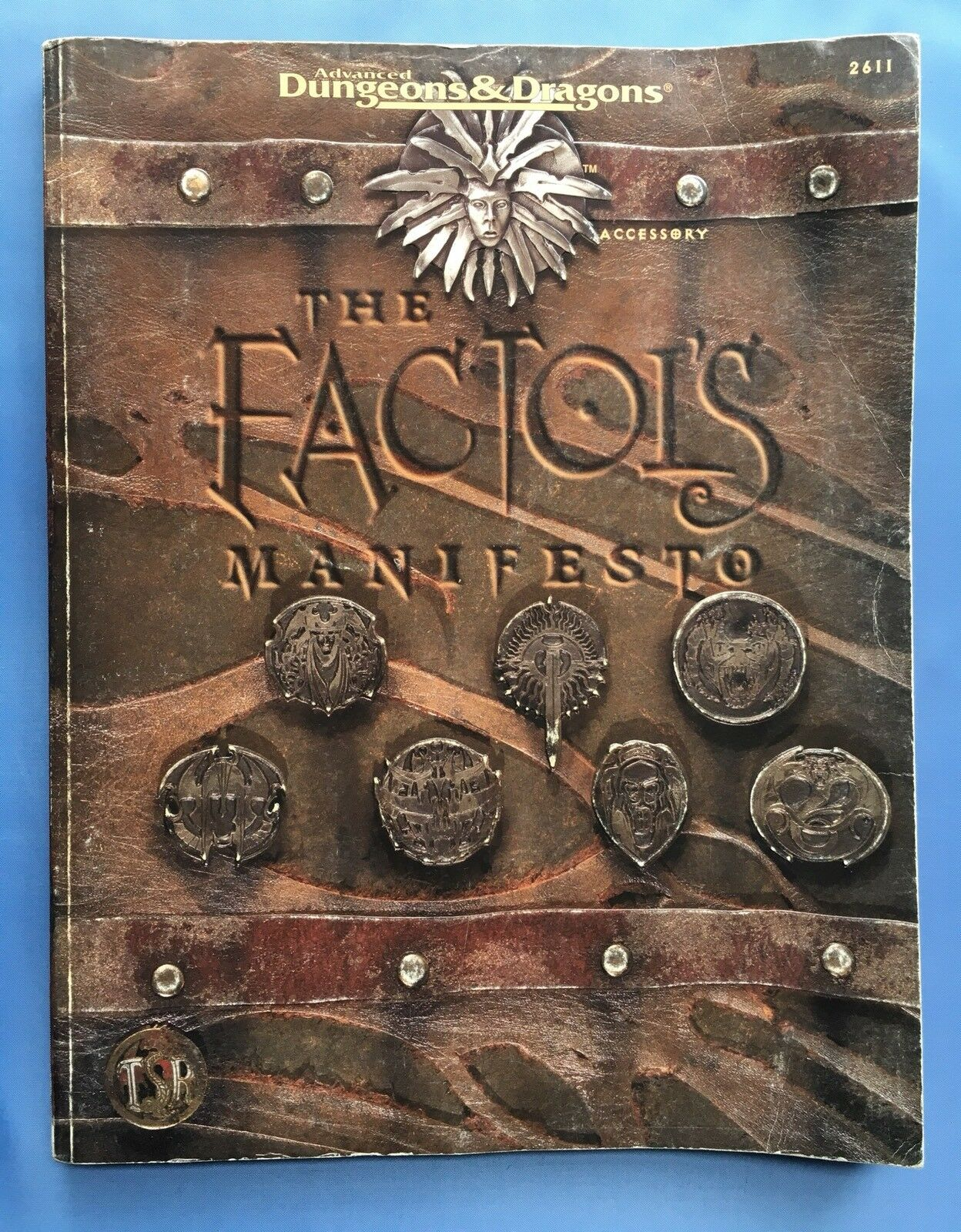 The Factol's Manifesto - Planescape 2611 - TSR Advanced Dungeons & Dragons AD&D