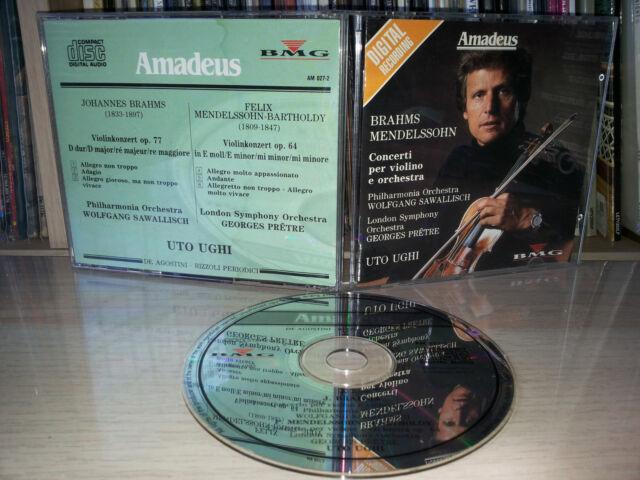 CD BRAHMS - MENDELSSOHN - CONCERTI PER VIOLINO E ORCHESTRA