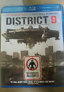 District 9 2009 Blu Ray Peter Jackson Ebay