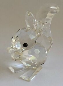 a3521570d Image is loading SWAROVSKI-CRYSTAL-FIGURINE-WOODLAND-FRIENDS-COLLECTION- SQUIRREL