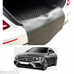 Mercedes-W213-E-Class-saloon-2016-rubber-boot-mat-load-liner-boot-lip-protector