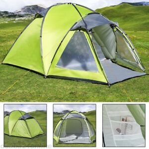 3-Man-Large-Igloo-Beach-Camping-Festival-Fishing-Garden-Tent-Dome-Sun-Shelter