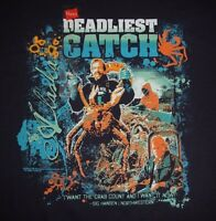 Deadliest Catch - Alaska - With Tags - Men's Size L - Graphic T-shirt