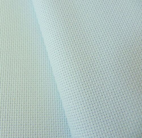 Ice Blue 16 Count Zweigart Aida cross stitch fabric various size options