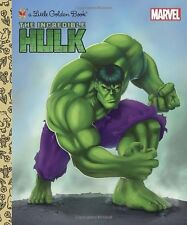 Little Golden Book: The Incredible Hulk (Marvel) by Billy Wrecks (2016, Hardcover)