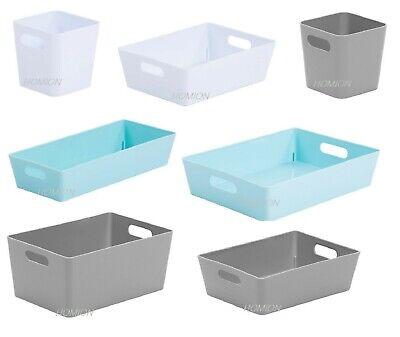Whitefurze Plastic Handy Baskets Organiser Pharmacy Home Office School 3,5,10,20