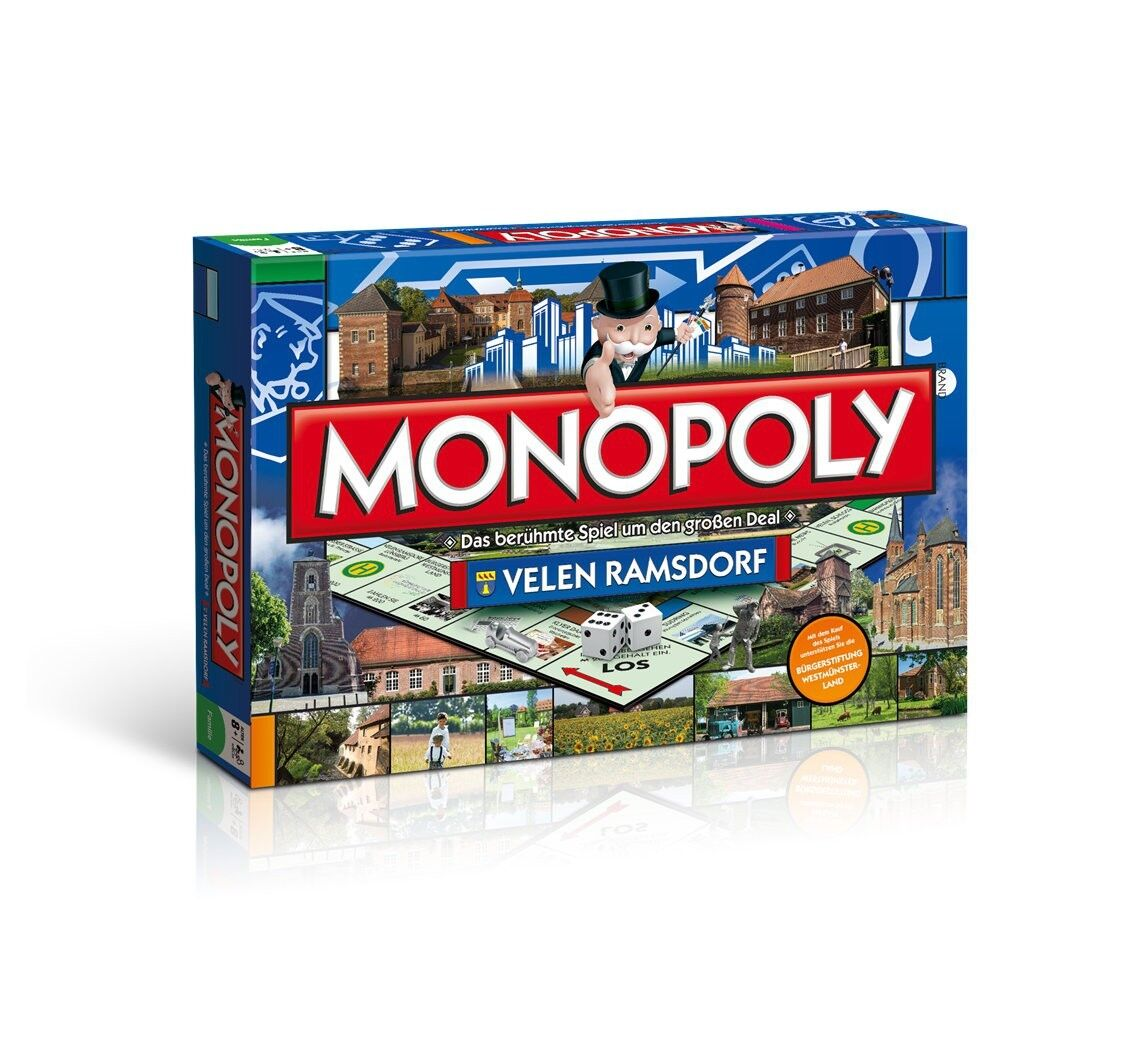 Original Monopoly Velen Ramsdorf City Edition Cityedition City Board Game Game