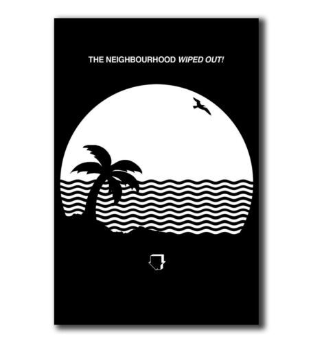 T-1045 Art Poster The Neighbourhood Wiped Out Rock Music Band Silk 24x36 27x40IN