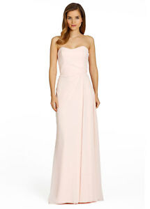 Image Is Loading Jim Hjelm Hayley Paige Bridesmaid Dress 5360 Long