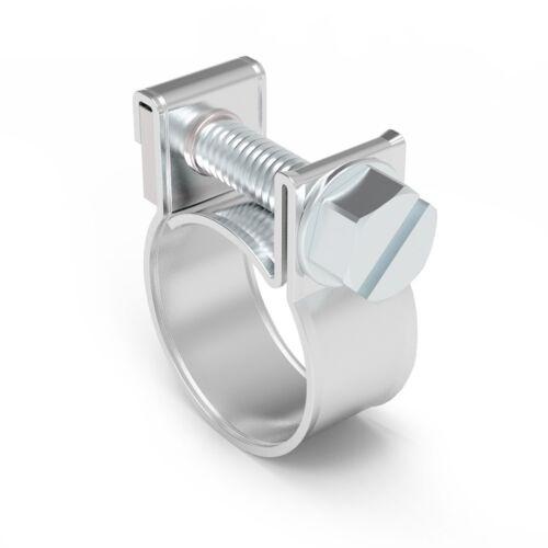 10 20 50pc colliers de serrage INOX Acier Doux Collier Serrage Ver Drive Marine Grade