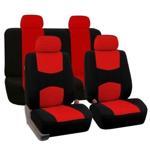 9pcs Net Fabric Deluxe Car Cover Seat Protector Cushion Front Rear Cover 666