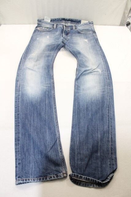 J6471 Diesel Safado Regular Slim-Straight Wash 008B9 Jeans W31 L34 Blau  Gut