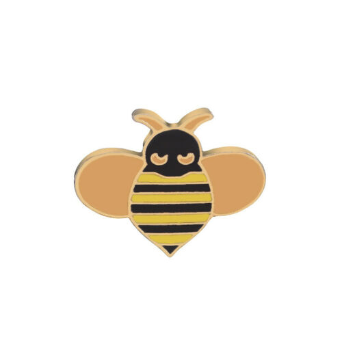 Dog Kitty Bee Brooch Enamel Vintage Style bee Insect Pin Gift Jewelry Animal