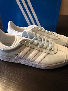4b93d86face0 NEW BOX ADIDAS GAZELLE BB5473 LEATHER TENNIS SHOES SNEAKERS ICE MINT ...