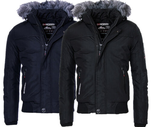 Jacke Bomber Winter Geographical Norway Outdoor Warme Borrowpark Herren xUqtqR