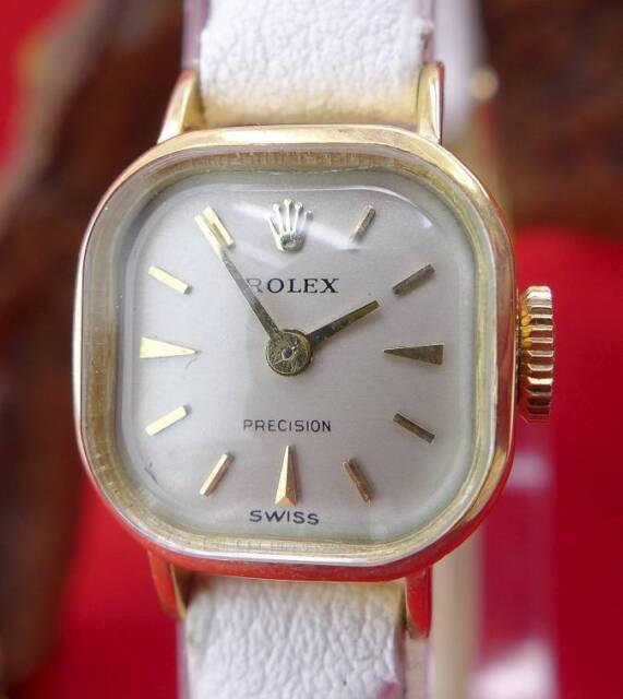Original Rolex Damenuhr in 750 Gelbgold