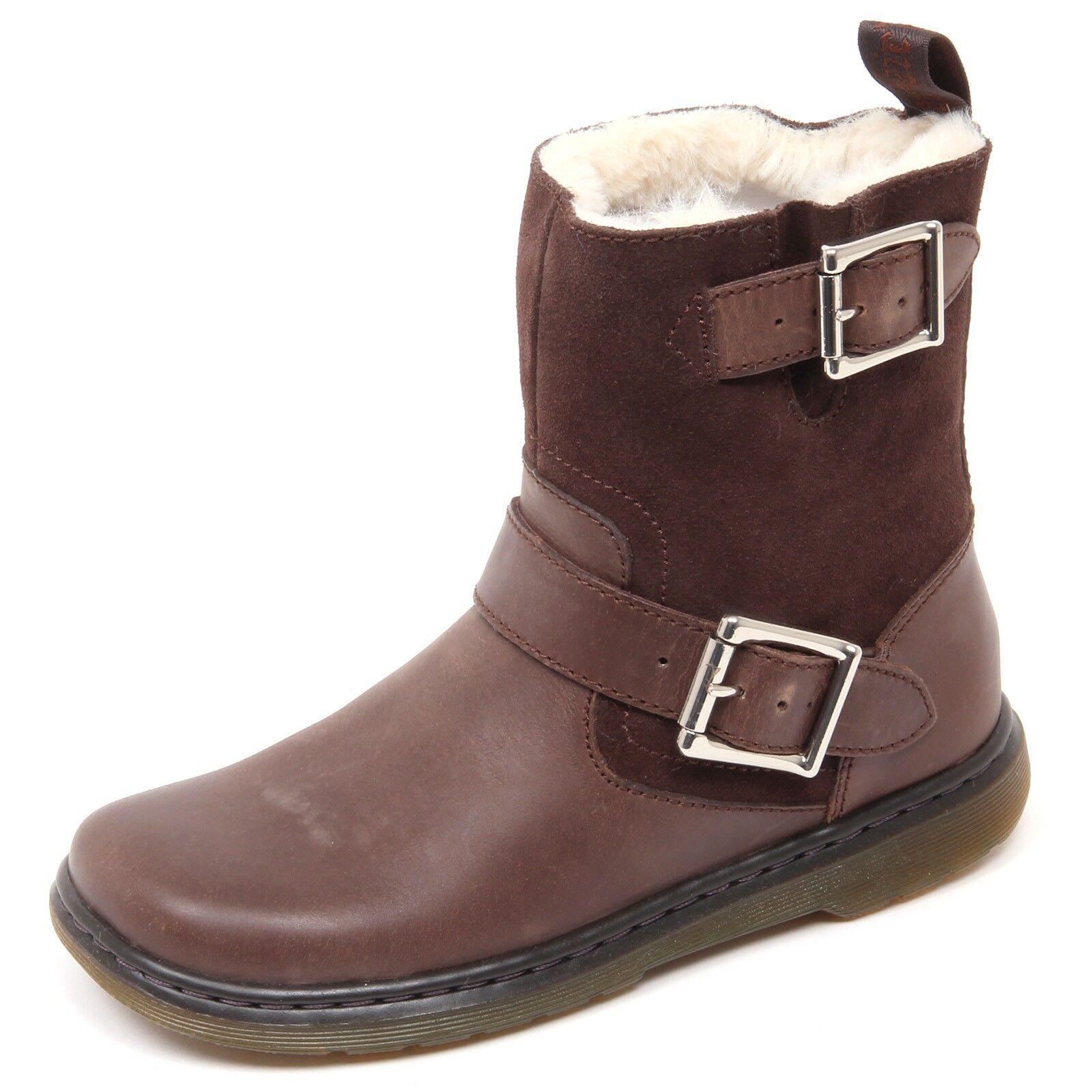 Grandes zapatos con descuento D1654 stivaletto donna DR MARTENS GAYLE FL marrone vintage boot shoe woman