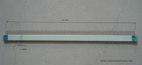 Cast-on Comb Set  63cm+28cm+43cm for Brother KH860 KH868 KH890-KH970 Studio 280