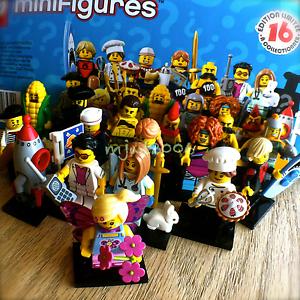 Random Set of 4 Packs New Sealed LEGO 71018 Minifigures Series 17