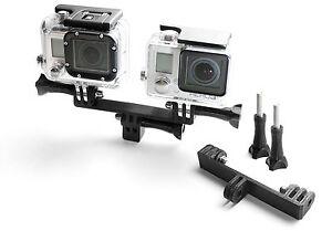 Splitter-Teiler-Mount-f-GoPro-Go-Pro-HD-HERO-1-2-3-3-Zubehoer-Adapter-Tripod