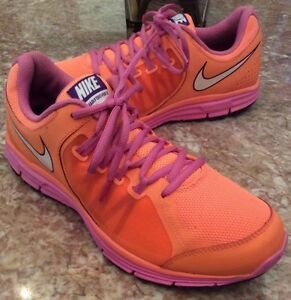 separation shoes 96588 bebe7 Image is loading Nike-Lunar-Forever-3-Women-039-s-Orange-