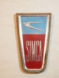 Automobilia - Ancien Insigne Emblème Simca Aronde