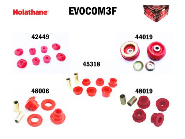 NOLATHANE COMMODORE VR VS EVOCOM3F Complete Front Vehicle Bush Enhancement Kit