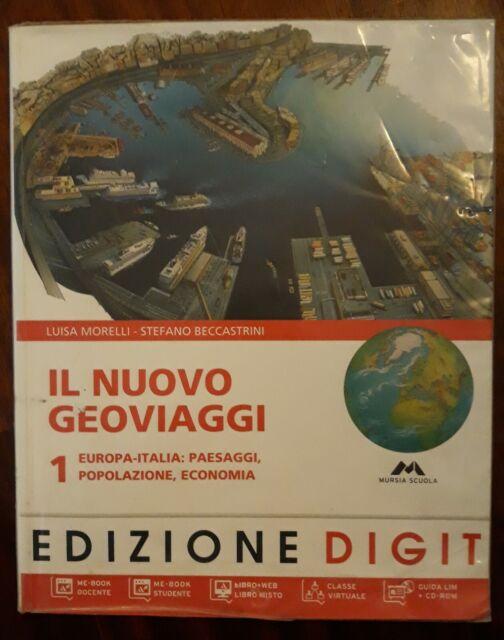 IL NUOVO GEOVIAGGI 1 con Atlante - Morelli e Beccastrini [9788883324888]