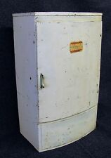 Vintage Wolverine Toy Doll Refrigerator Lithographed Metal 1950s  (AB129)