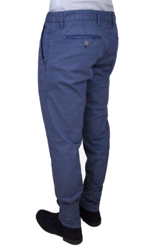 lastique Bleu Pour Formel Hommes Pantalons Sartoriale Sons Coton Herman P07gXnZ0