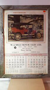 W-J-Mills-Chrysler-dealer-Goderich-Ontario-1969-calendar-exc-condition