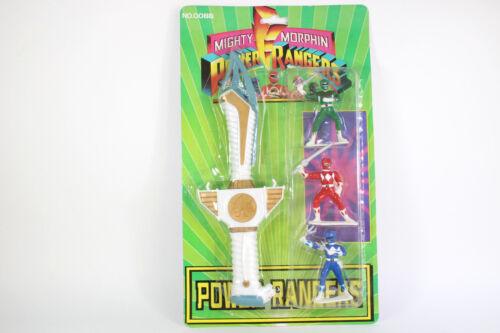 Power Rangers Figures White Tiger Sword 11/'/' Mighty Morphin Rare Saba Bootleg