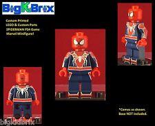 SPIDERMAN PS4 Game Inspired Marvel Custom Printed Lego & Custom Parts Minifigure