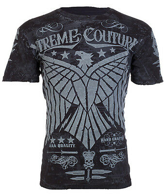 Xtreme Couture AFFLICTION Men T-Shirt EAGLE American Fighter MMA UFC M-3XL $40 c