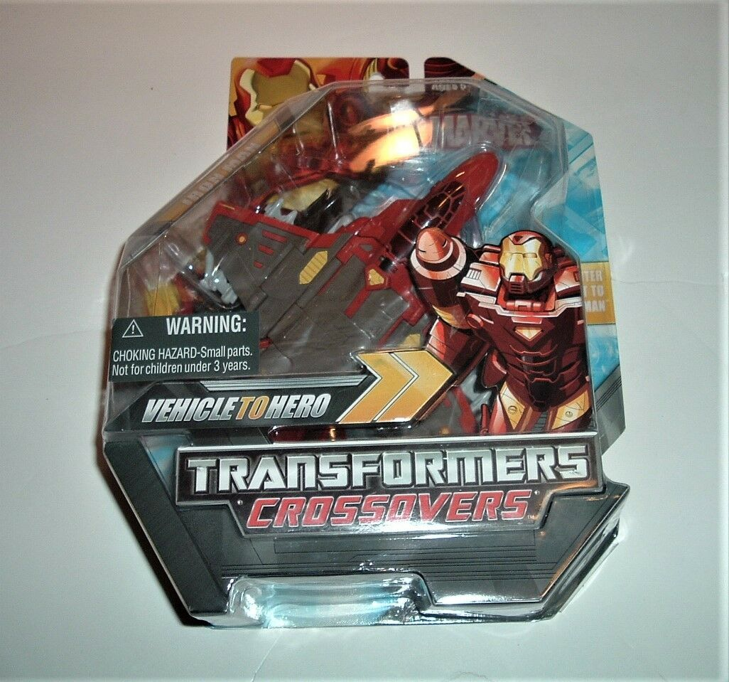 Marvel Transformers Crotvers Iron Man 2008 Action Factory Figure Sealed