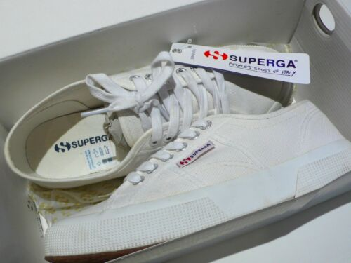Superga Classic White Uk Unisex Shoes 5 Trainers 6 40 2750 Canvas Euro FFUxwHq5r