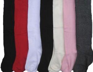 Infants /& Girls 1 Pair Plain Cream Cottonsoft Tights various sizes