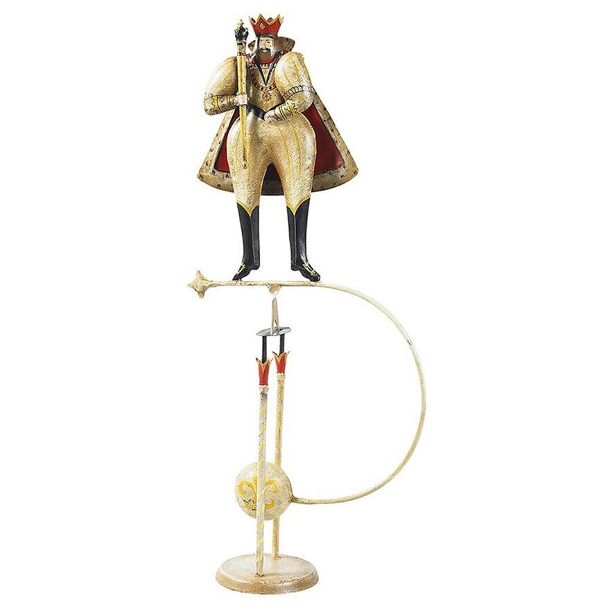 Figura rey medieval cielo Gancho Royal Teeter subibaja 24  nuevo juguete de estaño balance