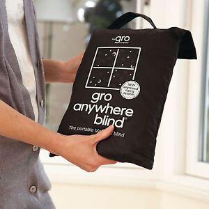 Gro-Partout-Black-Out-Store-Lune-Stars-Imprime-Noir-Portable-Stores-Neuf