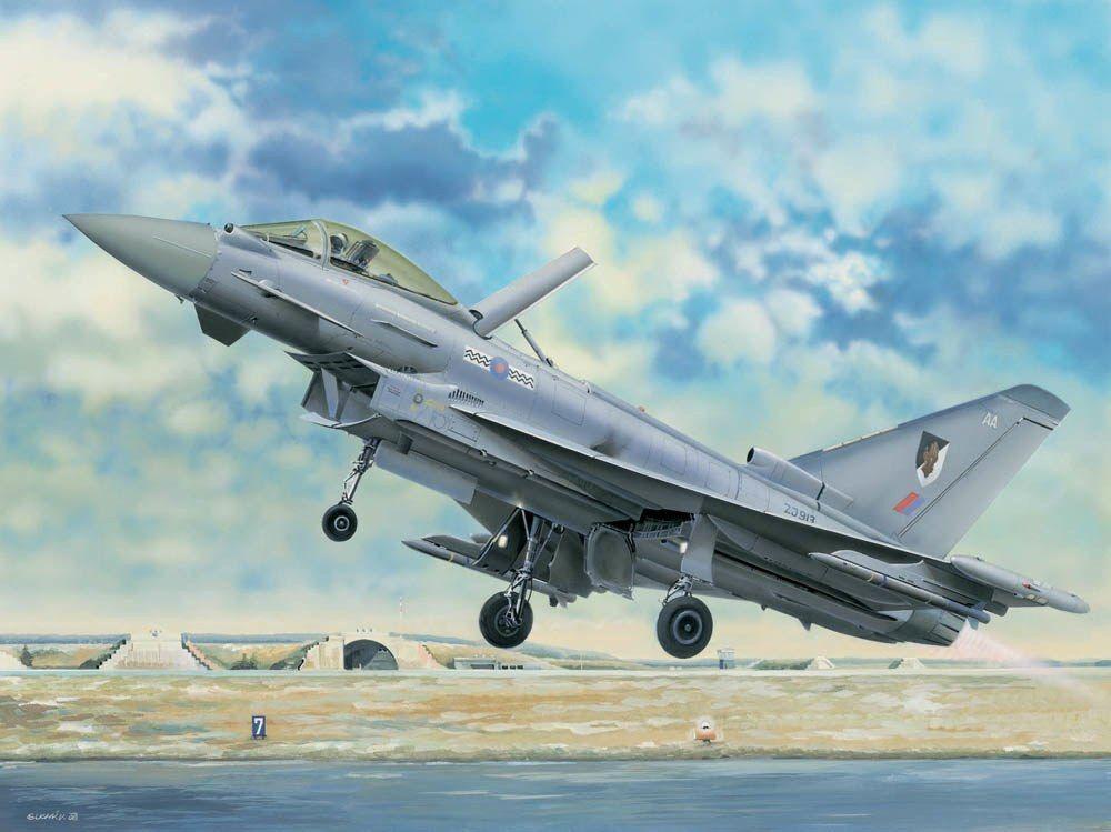 Trumpeter 02278 - 1 32 EF-2000 Eurofighter Typhoon - Neu    Elegantes Aussehen