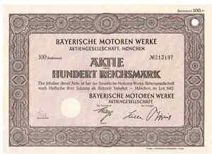 BMW-Bayerische-Motoren-Werke-AG-1942-Muenchen