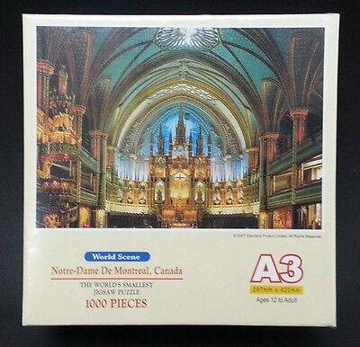 Notre-Dame de Montreal 1000 Pieces Jigsaw Puzzle