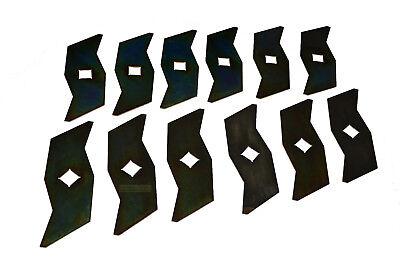 12 Vertikutierer Messer passend für ALKO AL-KO 510504  510825  104592