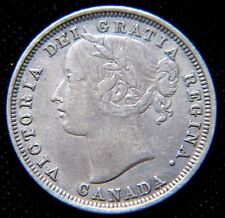#2, Queen Victoria, 1858 Twenty 20 Cents Silver Canada,Canadian Silver Coin