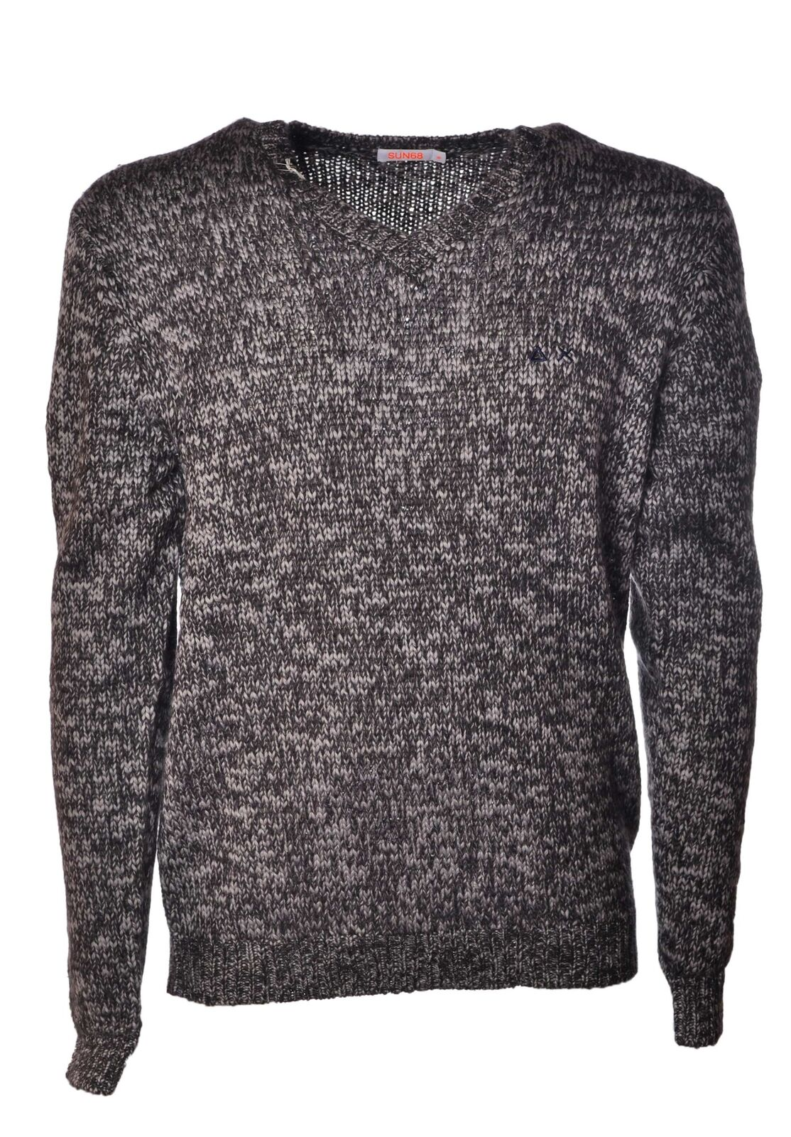Sun 68 - Knitwear-Sweaters - Man - Grau - 4048018B183513