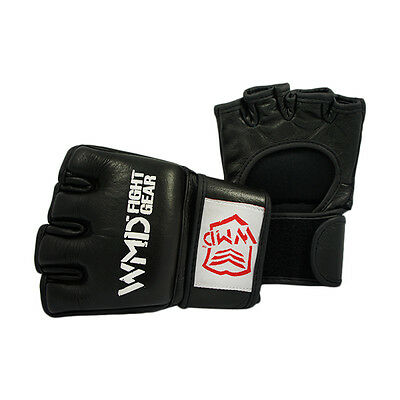WMD UFC COMPETITION GRAPPLING MMA KICK BOXING UFC GLOVES - HIGH GRADE QUALITY
