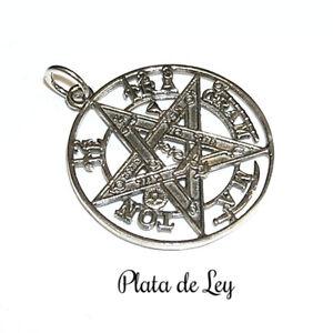 COLGANTE-PLATA-de-LEY-TETRAGRAMATON-2-5-cm-0-7cm-y-Estuche-Tetragrammaton