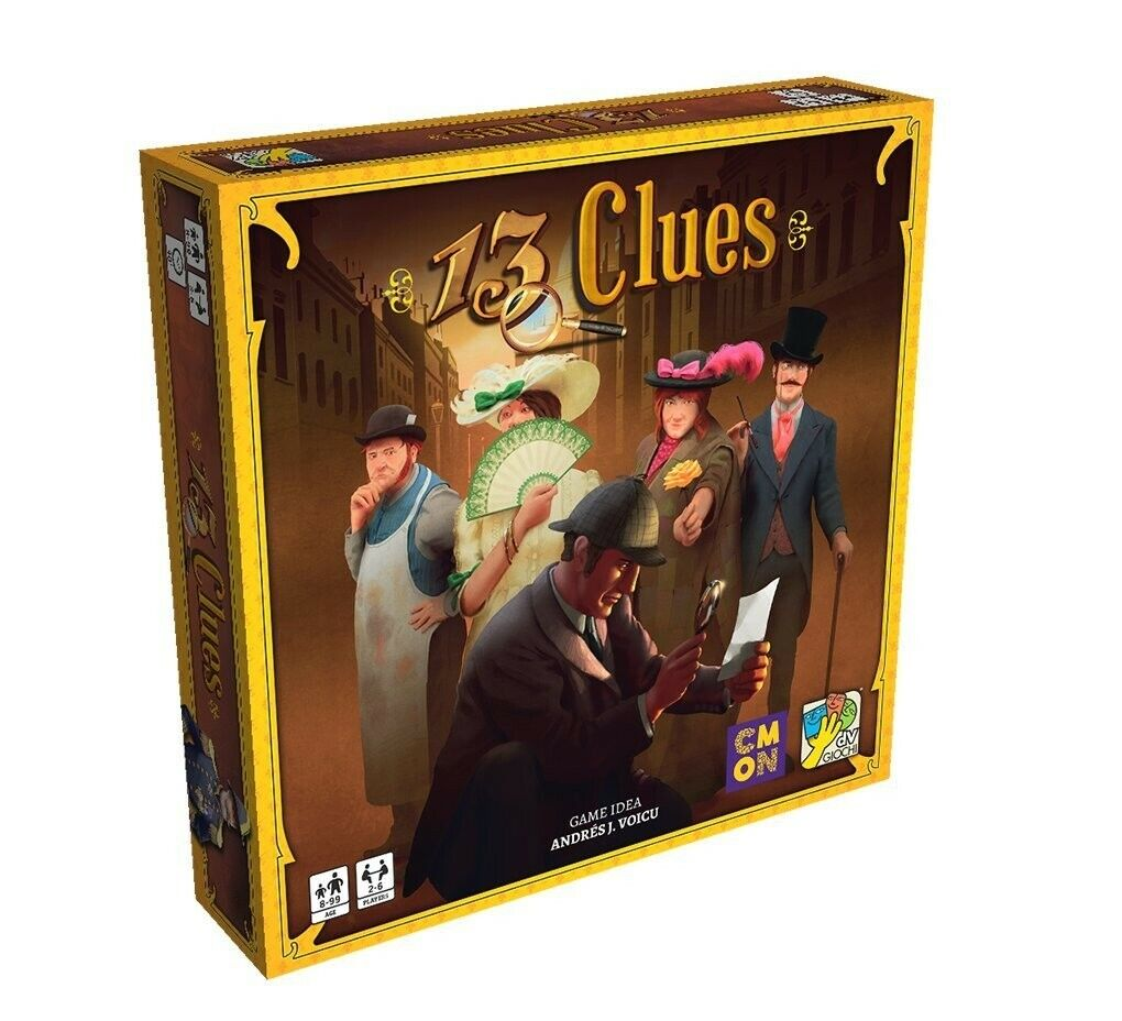 13 Clues Board Game NEW MISB
