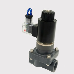 AC220V-G2-034-PVC-Electric-Solenoid-Valve-Water-Normally-open-Anti-corrosion