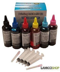 6x100ml-Refill-ink-kit-for-Epson-79-T079-Artisan-1430-Stylus-Photo-1400-1410